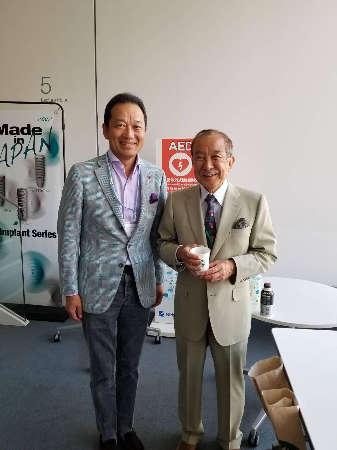 与五沢先生